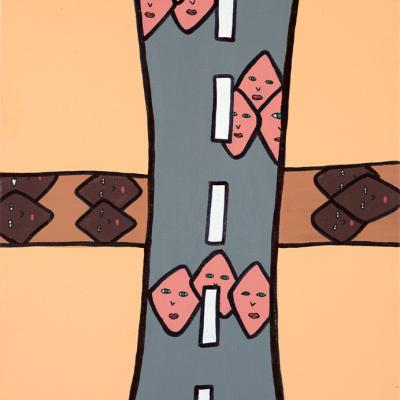 Chacun sa croix.